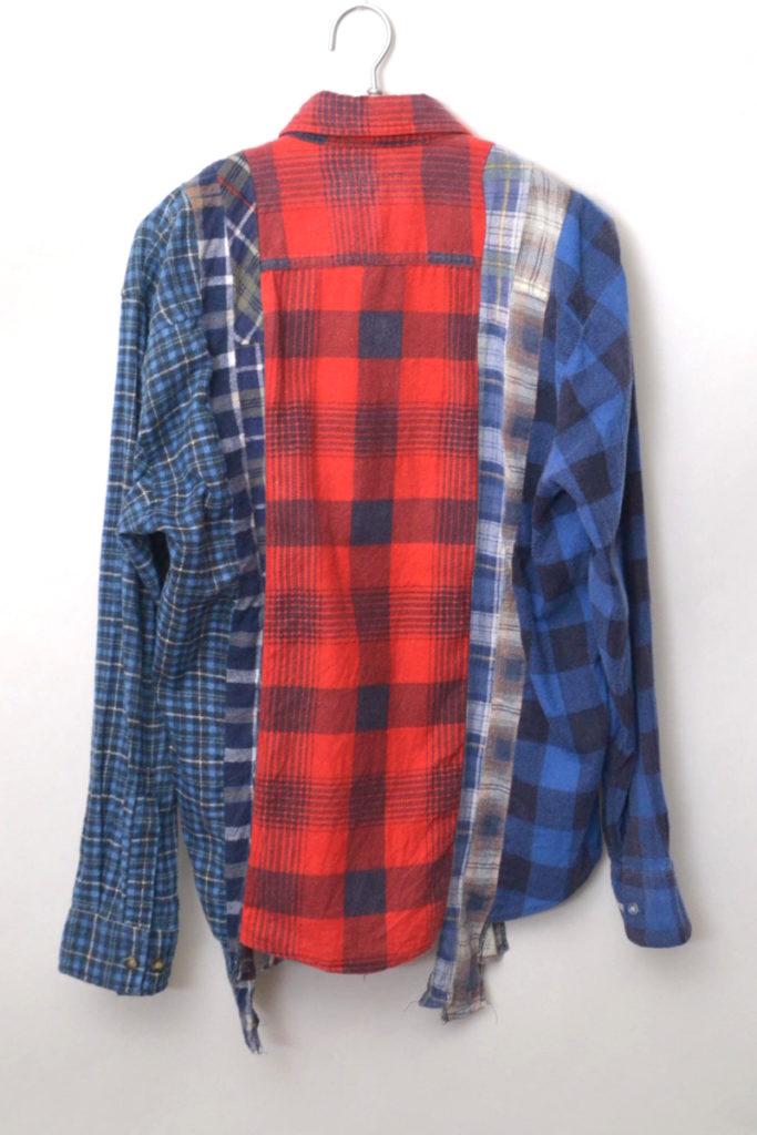 7Cut Flannel Shirt 解体再構築 ネルシャツの買取実績画像