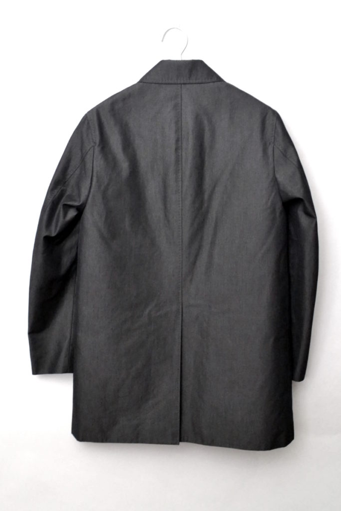 Olmetex キルティングライナー付き ステンカラーコートの買取実績画像