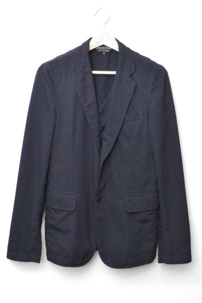 2010AW/ ウール ベスト ドッキングジャケット