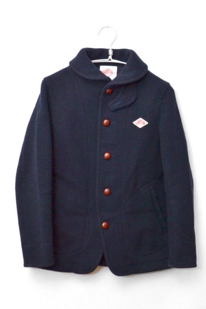 ウールモッサ ラウンドカラージャケット コート