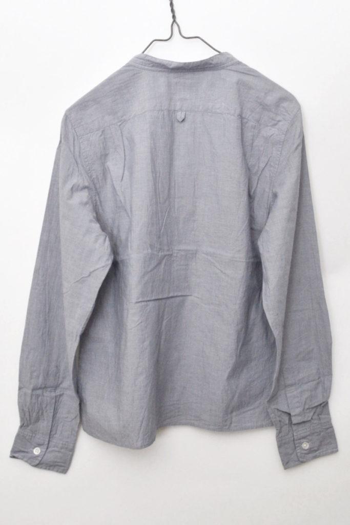 2014AW/コットンポプリン バンドカラーシャツの買取実績画像