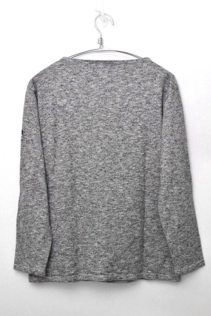OUESSANT MELANGE ウエッソン メランジ 無地バスクシャツ カットソーの買取実績画像