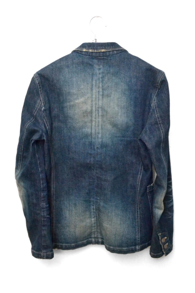 GB12AT / JKT04:Vicky denim tailored JKT ヴィッキーデニムテーラードジャケットの買取実績画像