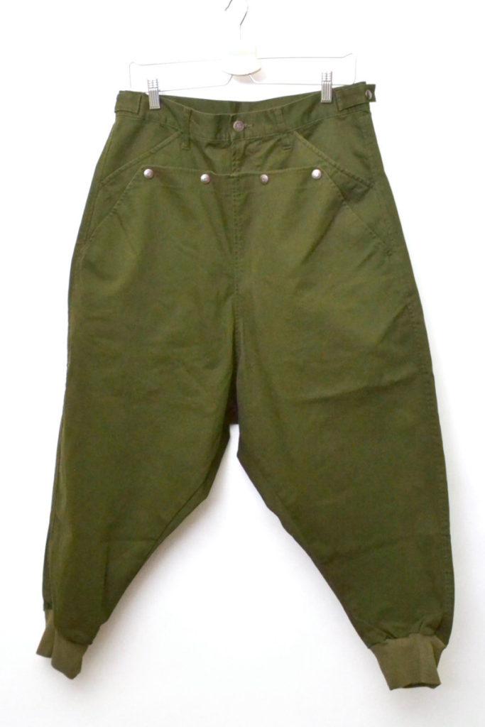 2015AW/ Kieren pants キーレンパンツ 裾リブ バギーサルエルパンツ