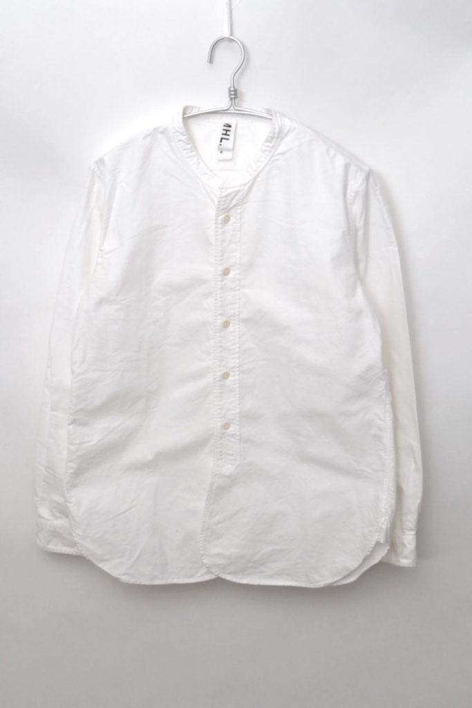 2016/オックスフォード バンドカラーシャツ