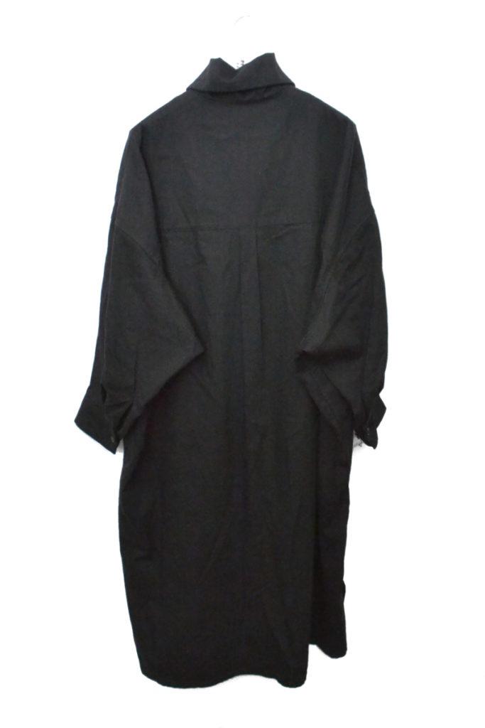 2018AW/スタンドカラー コットンビッグシャツ ワンピースの買取実績画像
