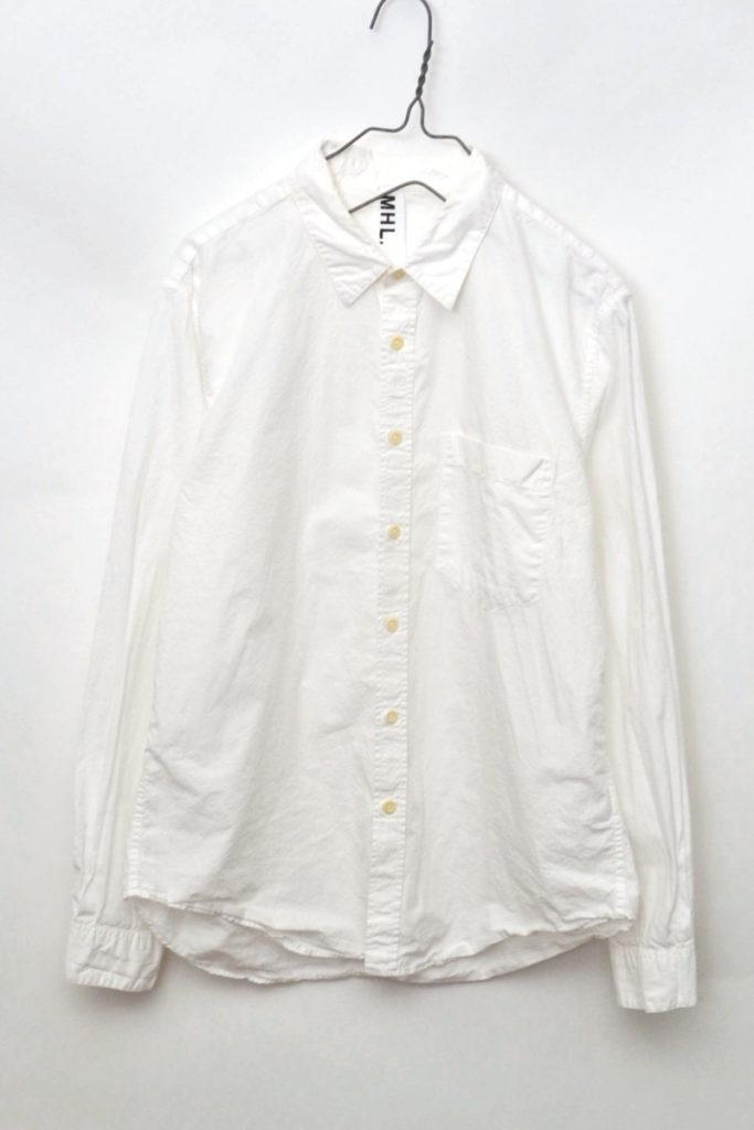 2015年モデル/コットンポプリン レギュラーカラーシャツ
