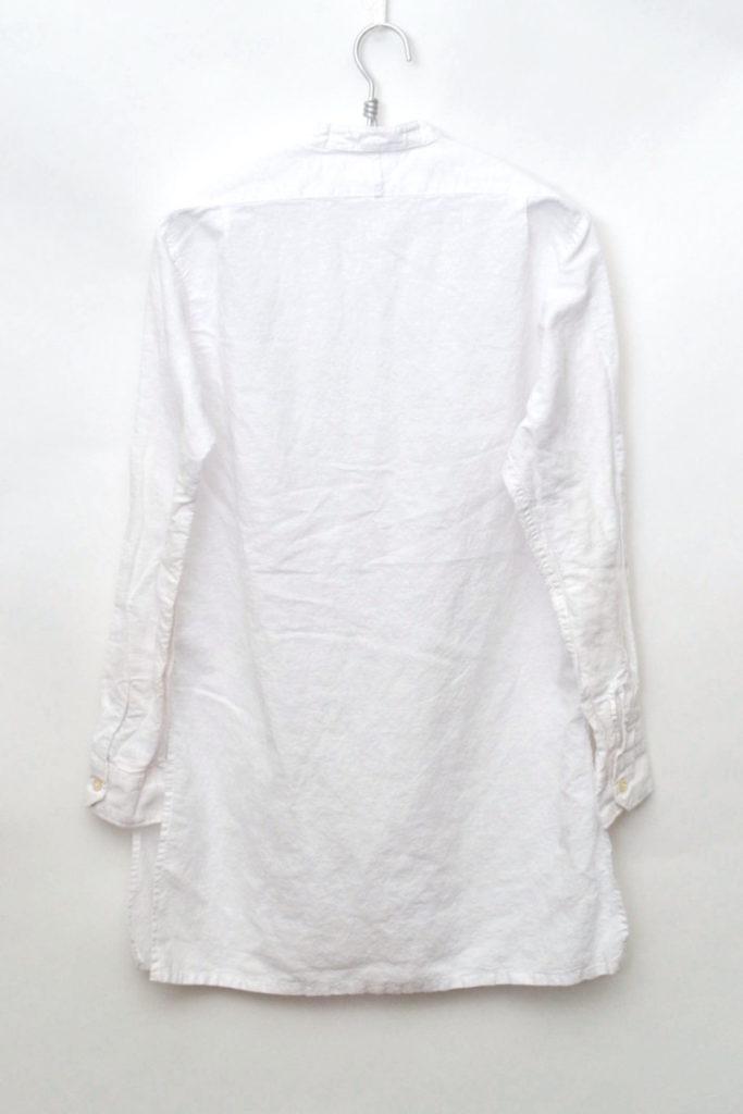 Banded Collar Long Shirt リネンバンドカラー ロングシャツの買取実績画像