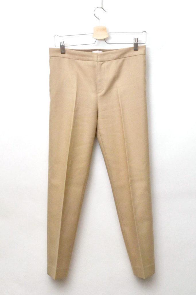 2016/ Double Cloth パンツ センタープレス チノパンツ