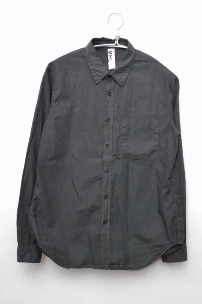 BASIC POPLIN ベーシックポプリン レギュラーカラーシャツ