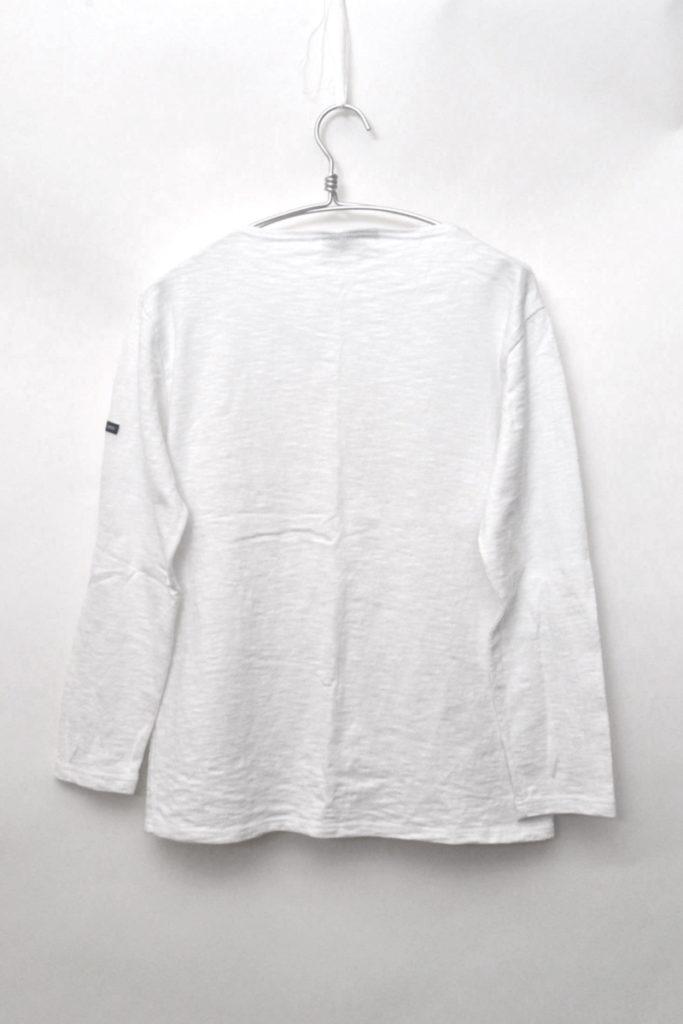 OUESSANT SOLID MELANGE ウエッソンメランジ 無地 ボートネックバスクシャツの買取実績画像