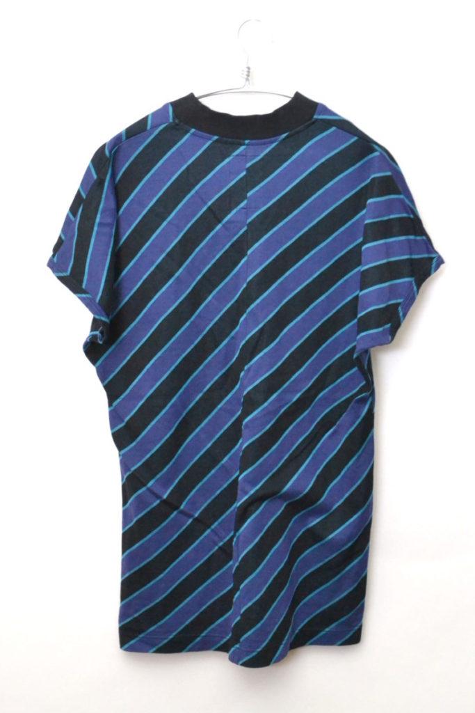2018SS/ BIAS STRIPE V-NECK BIG-T 斜めストライプビッグTシャツの買取実績画像