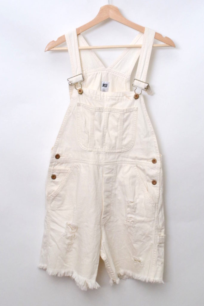 WHITE DENIM ホワイトデニム オールインワン パンツ