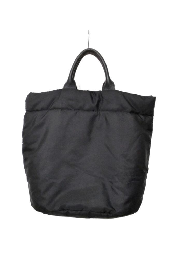 2003AW/中綿 レザーハンドル トートバッグ
