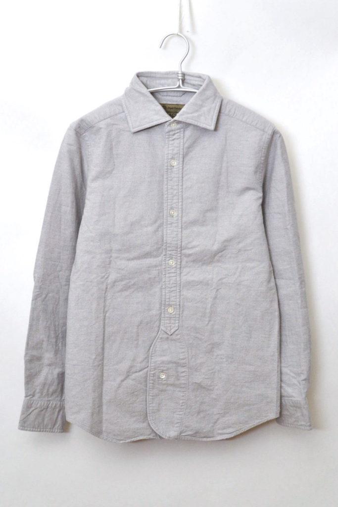 BRITISH OFFICERS SHIRT OX オックスフォード オフィサーズシャツ