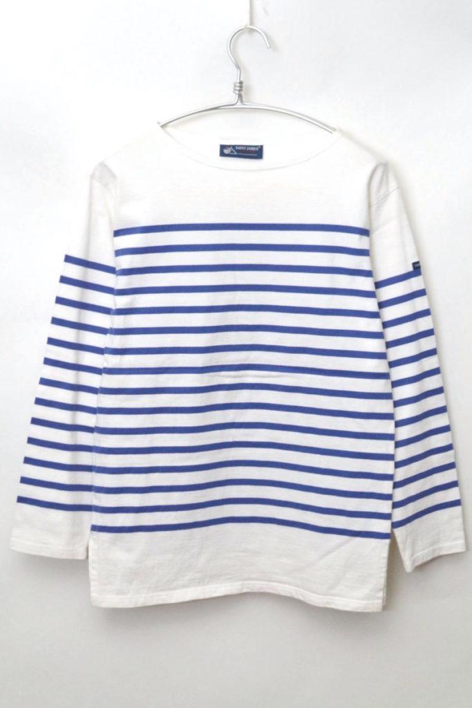 NAVAL ナヴァル パネルボーダーバスクシャツの買取実績画像