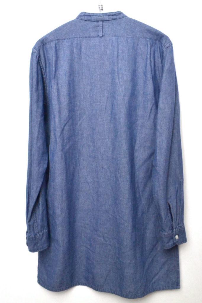 FREAK'S STORE別注 バンドカラープルオーバーロングシャツの買取実績画像