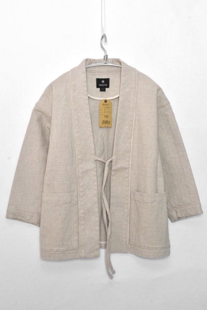 LINEN HAORI Jacket リネン羽織りジャケット