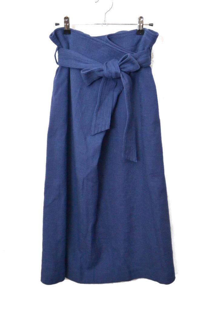 2018SS/ブッチャーオーバータックロングタイトスカート