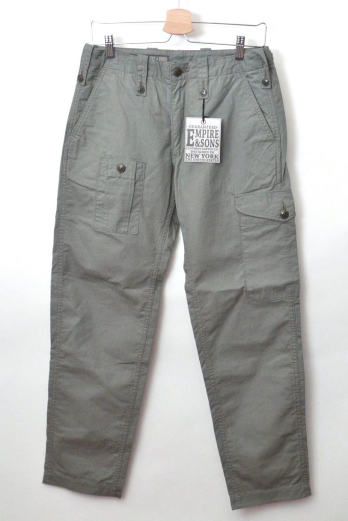 BRITISH 6POCKET PANT COTTON ARMY RIPSTOP ブリティッシュアーミーパンツ
