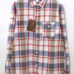 Lt Work Shirt – Red Madras マドラスチェック 長袖ワークシャツ
