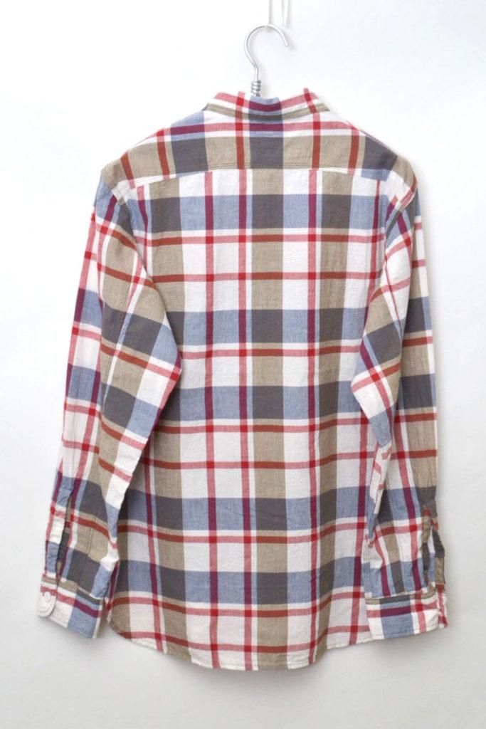 Lt Work Shirt – Red Madras マドラスチェック 長袖ワークシャツの買取実績画像