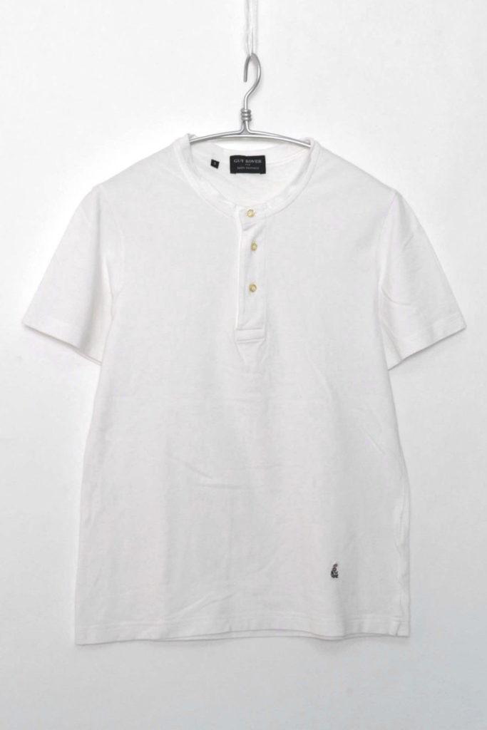 × NANO UNIVERSE / 別注 ヘンリーネック鹿の子Tシャツの買取実績画像