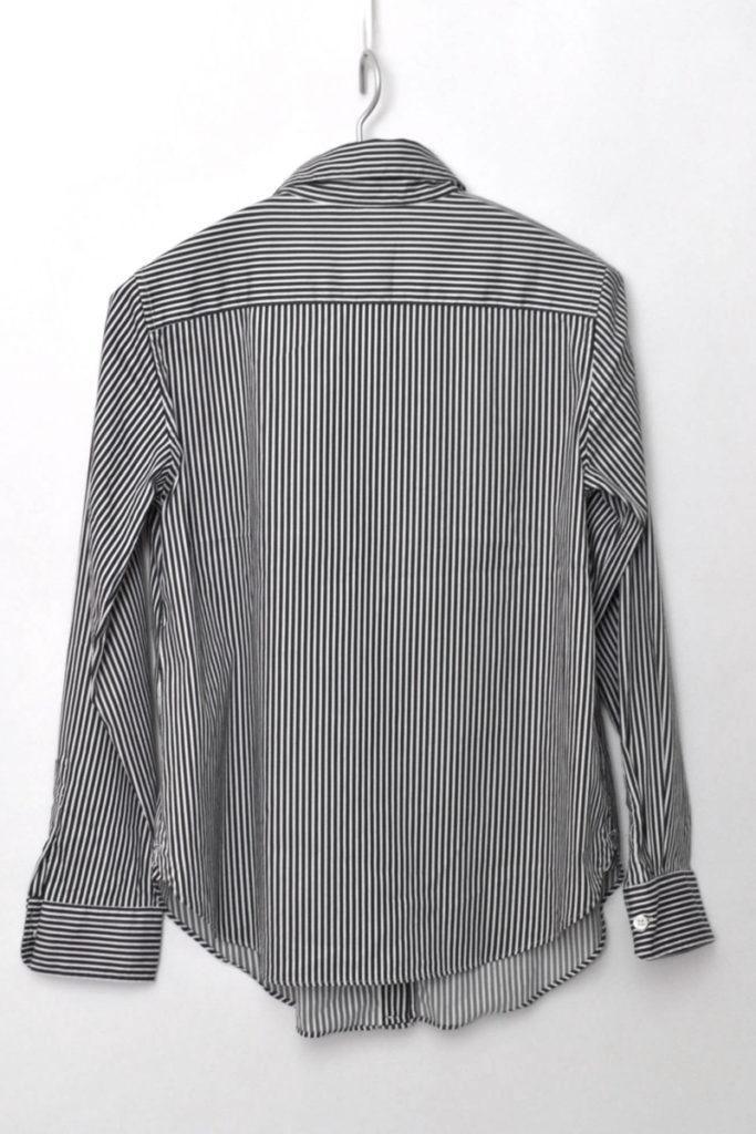 ストライプ 2way カシュクールシャツの買取実績画像