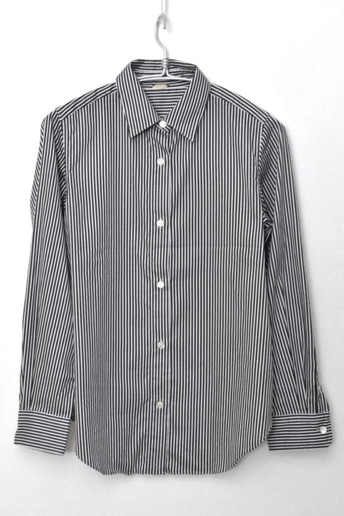 ストライプ 2way カシュクールシャツ