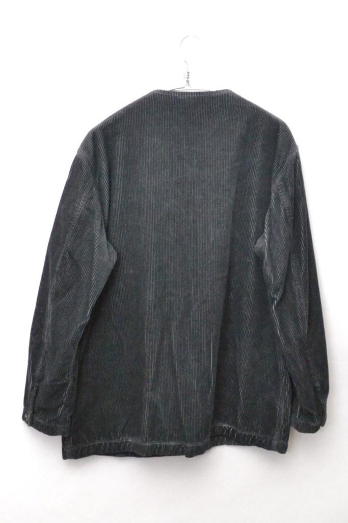 2017AW/ コーデュロイ ノーカラージャケットの買取実績画像