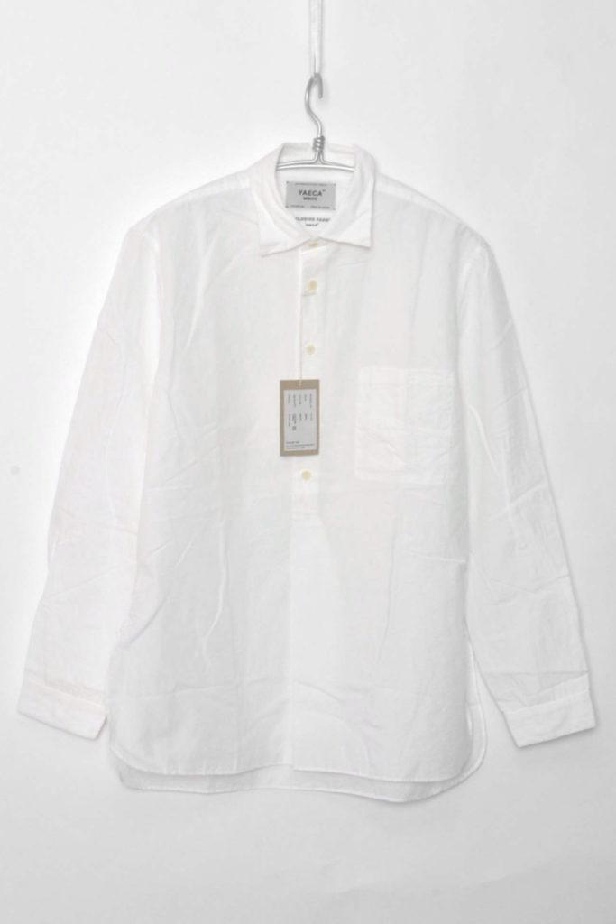 WRITE / 2017SS/ Pullover Button Long Shirt コットンリネン プルオーバーボタン ロングシャツ