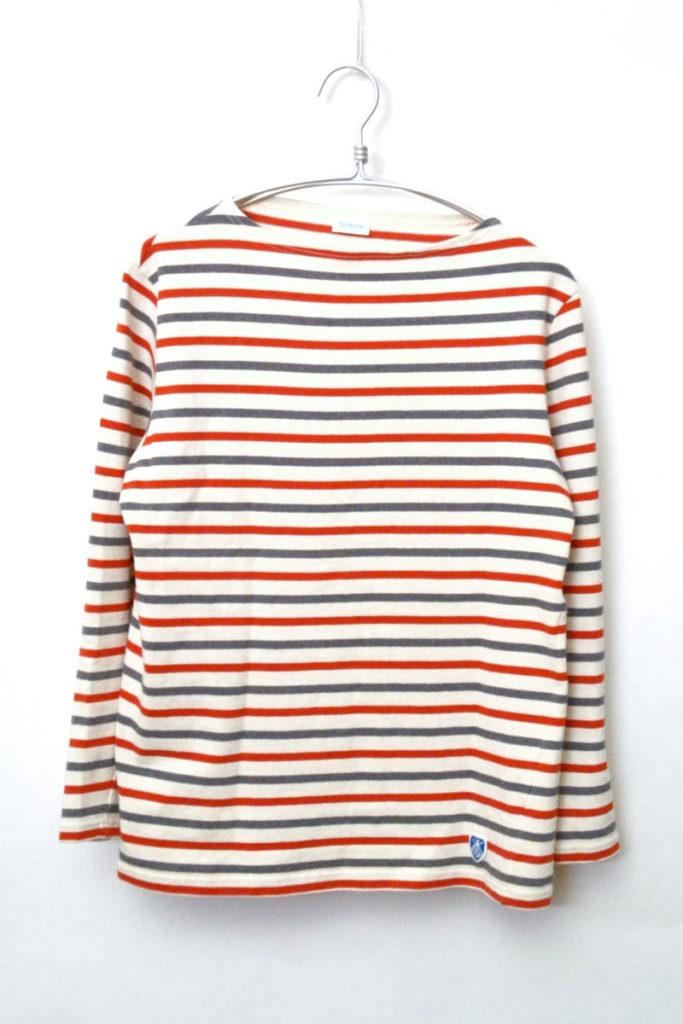 コットンロード ボーダーバスクシャツ