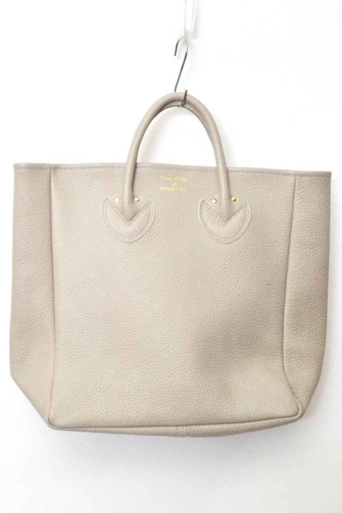 EMBOSSED LEATHER TOTE M レザートートバッグ