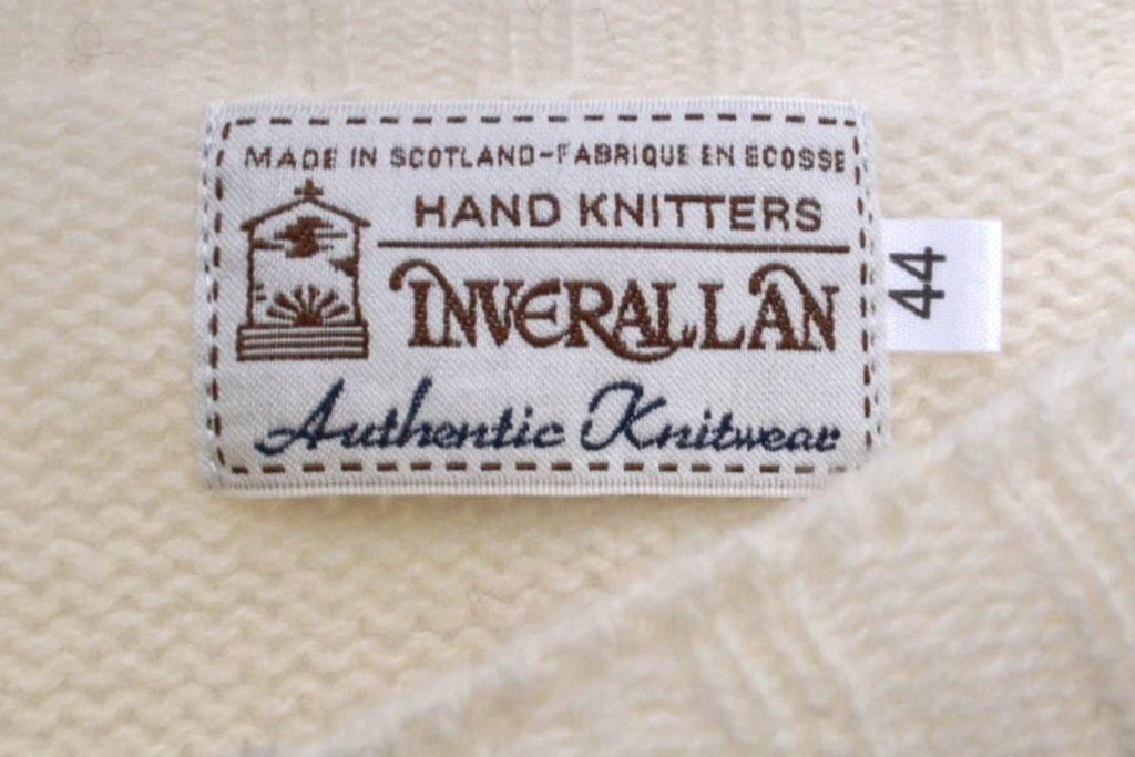 シェットランドニット クルーネックセーターの買取実績画像