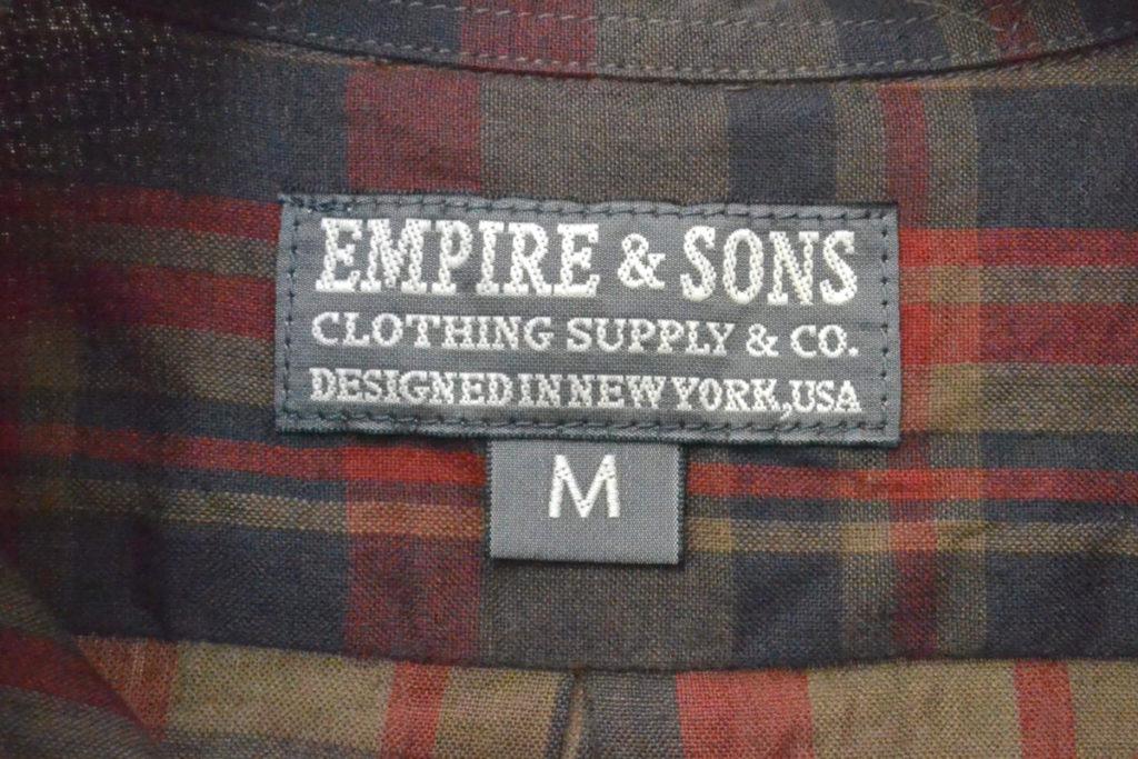 マドラスチェック ボタンダウンシャツの買取実績画像
