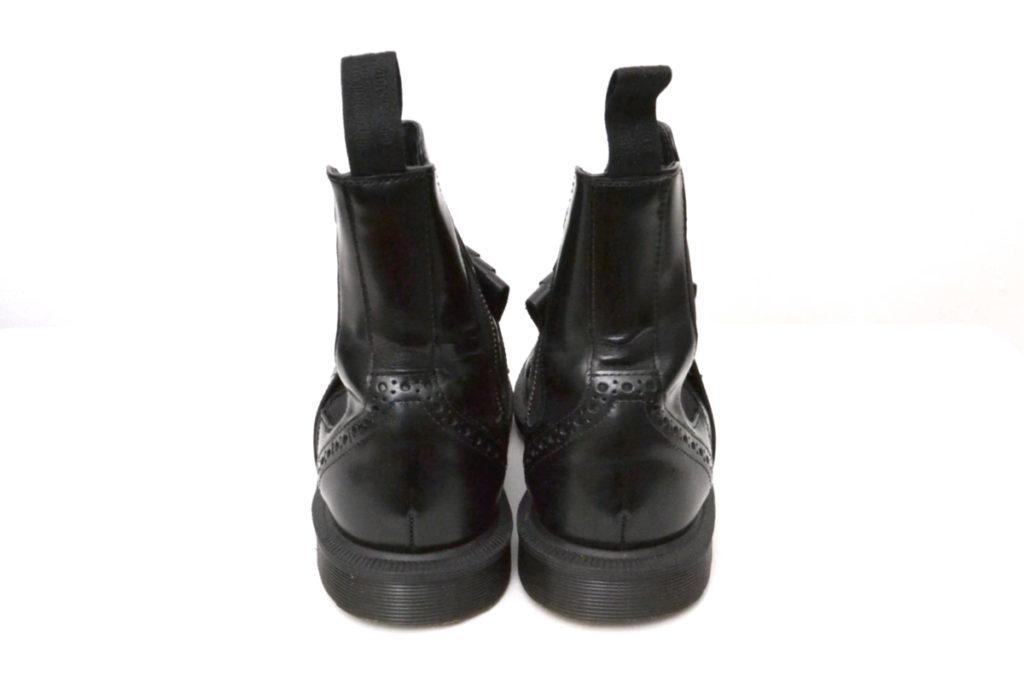 TINA サイドゴア ウイングチップブーツの買取実績画像