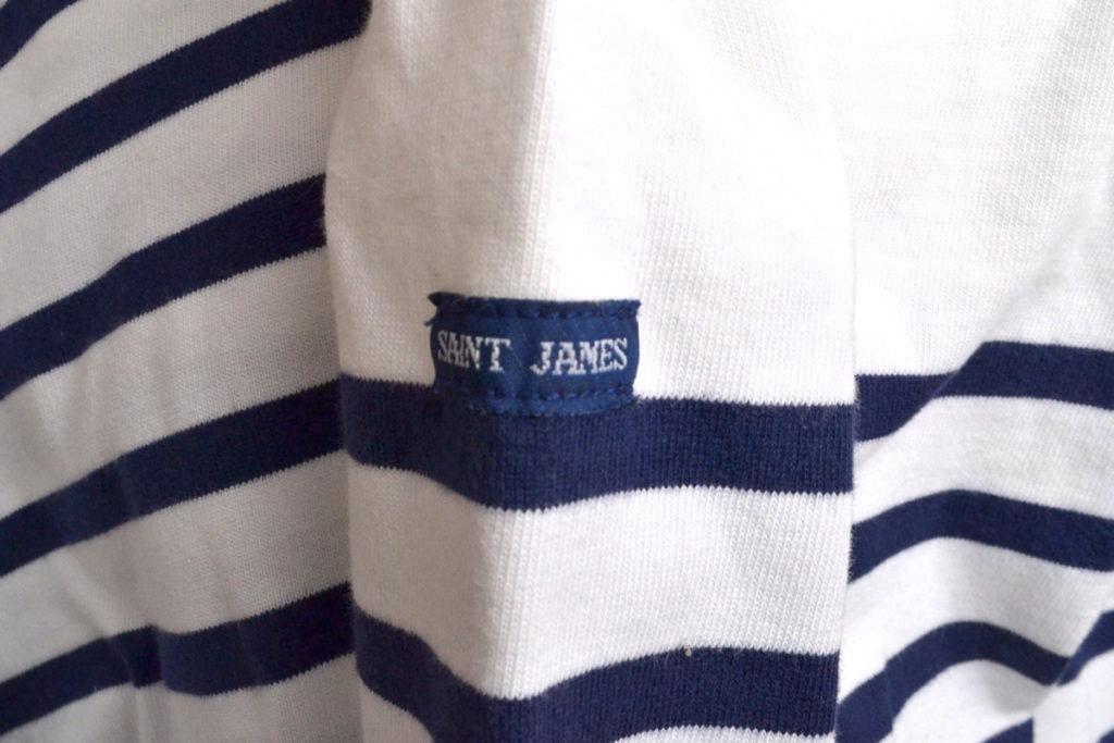 NAVAL ナバル パネルボーダーバスクシャツの買取実績画像