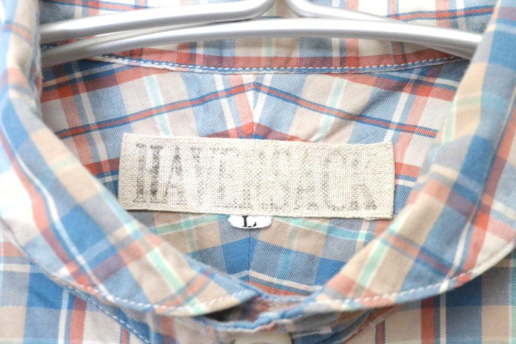 チンスト付きチェックラウンドカラーシャツの買取実績画像