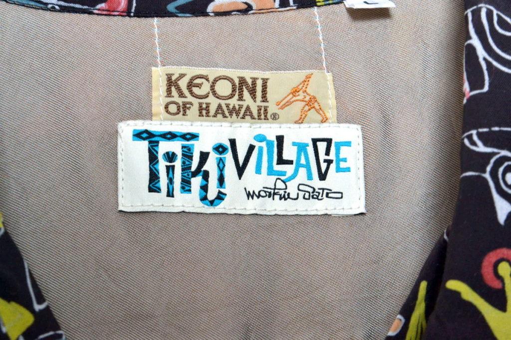 TIKI VILLAGE ティキビレッジ アロハシャツの買取実績画像
