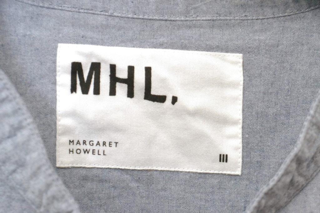 2018SS/ DRY COTTON CHAMBRAY バンドカラー シャンブレーシャツの買取実績画像