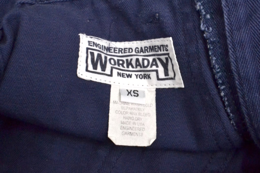WORKADAY/ヘリンボーンツイル ファティーグパンツの買取実績画像