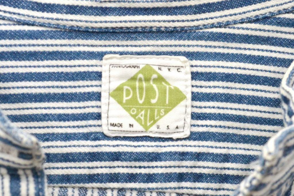 ヒッコリーストライプ バンドカラー エンジニアシャツの買取実績画像