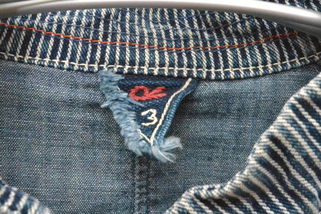 インディゴヒッコリー スタンドカラー カバーオールジャケットの買取実績画像