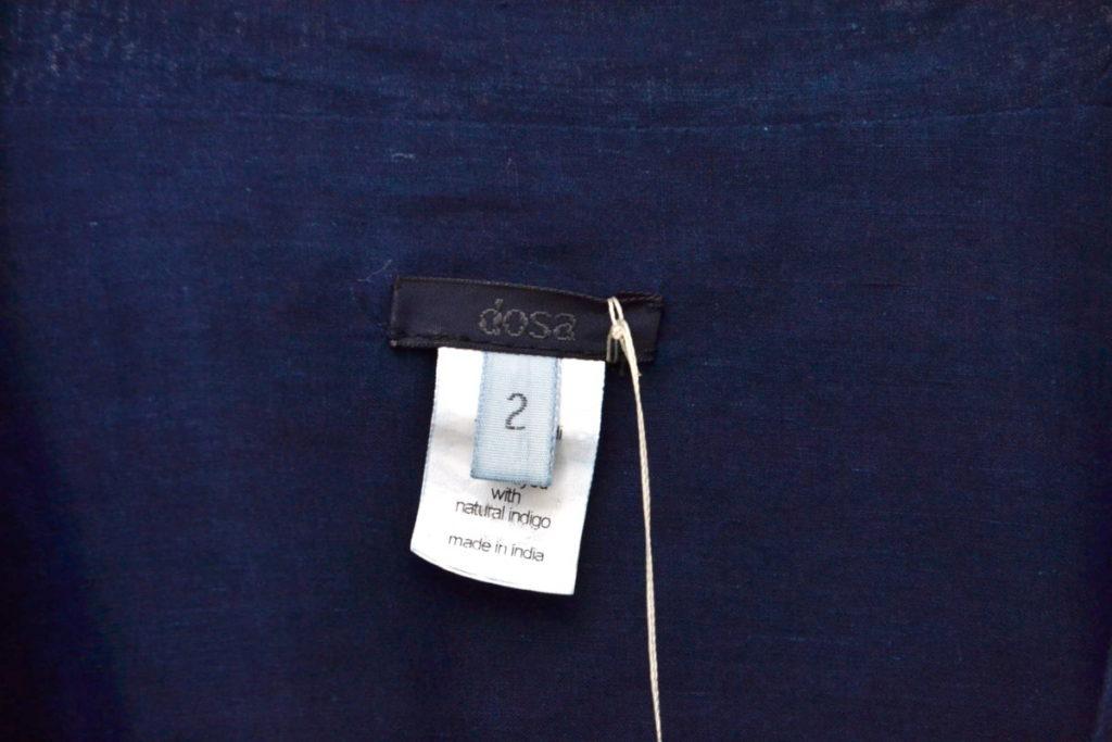ラバリジャケット カディコットン インディゴカシュクールブラウスの買取実績画像