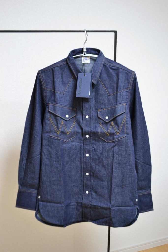 "COWBOY SHIRTS ""27MW"" COTTON 8oz DENIM NW by Wrangler デニムシャツ"