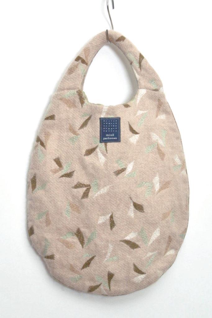 puffin アンゴラ エッグバッグ ハンドバッグ