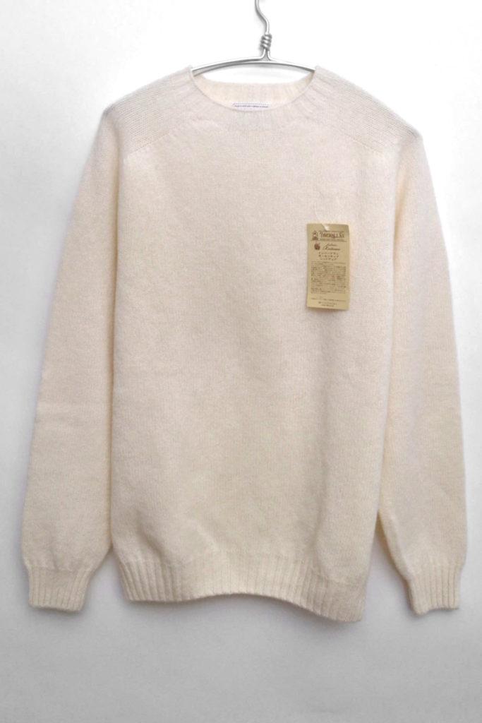 シェットランドニット クルーネックセーター