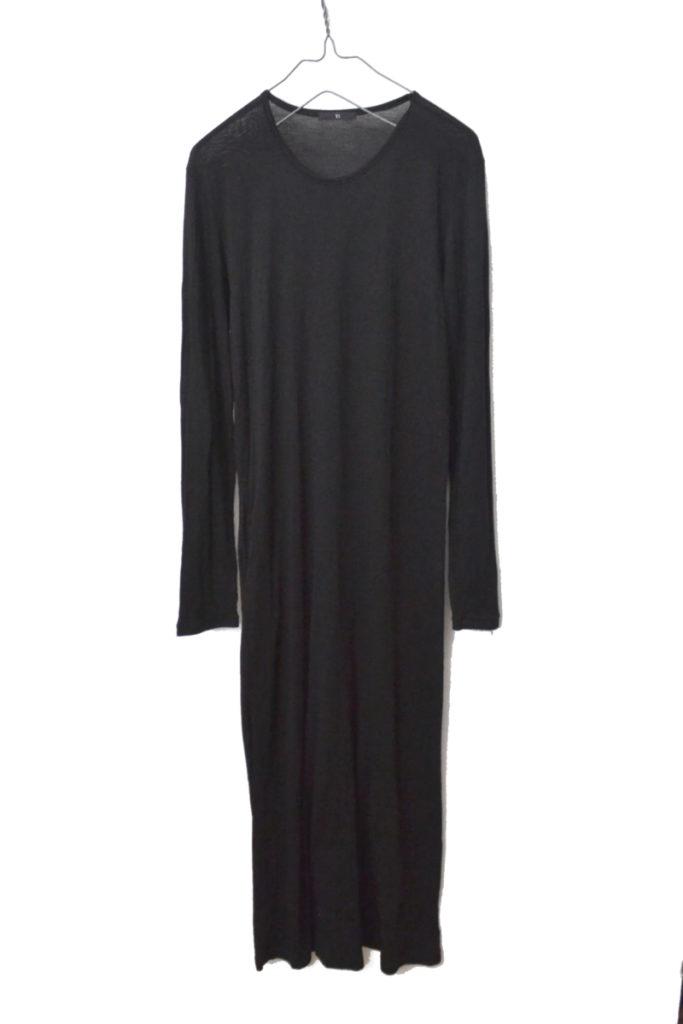 2012AW/RAYON DRESS ドレス レーヨンカットソー マキシワンピース
