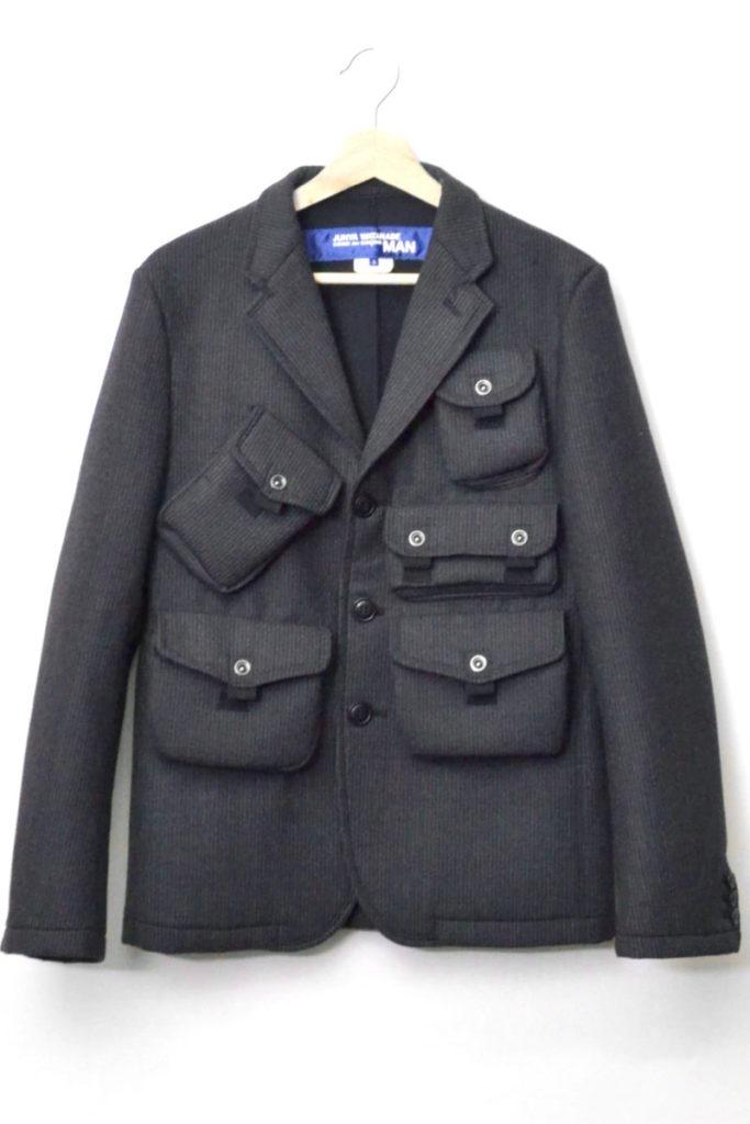 2016AW/ マルチポケット ウールボンディングジャケット