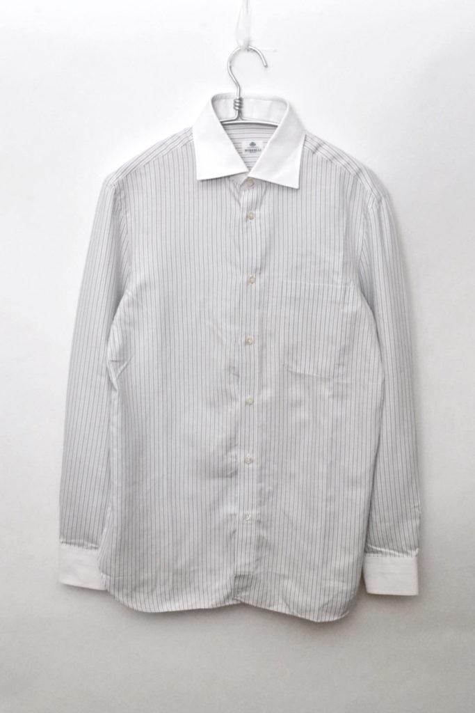 クレリック ワイドカラーシャツ